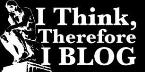 Blogging and Thinking