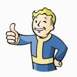 A thumbs up cartoon
