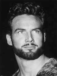 Black and White picture of Steve Reeves