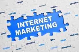 Puzzle revealing Internet Marketing