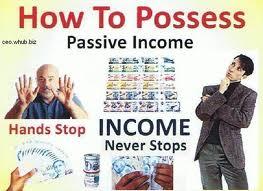 A diagram of Passive Income