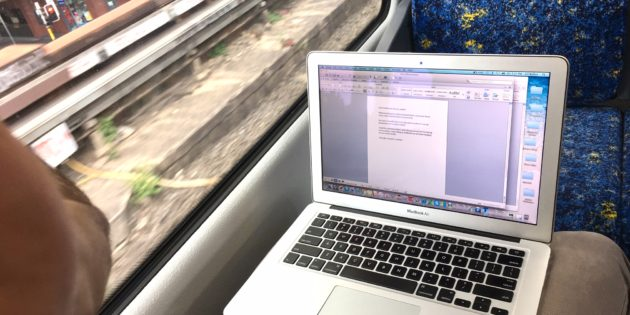 Train Laptop